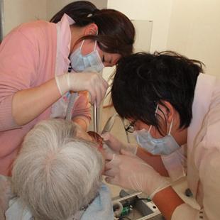 訪問歯科診療のご案内のイメージ